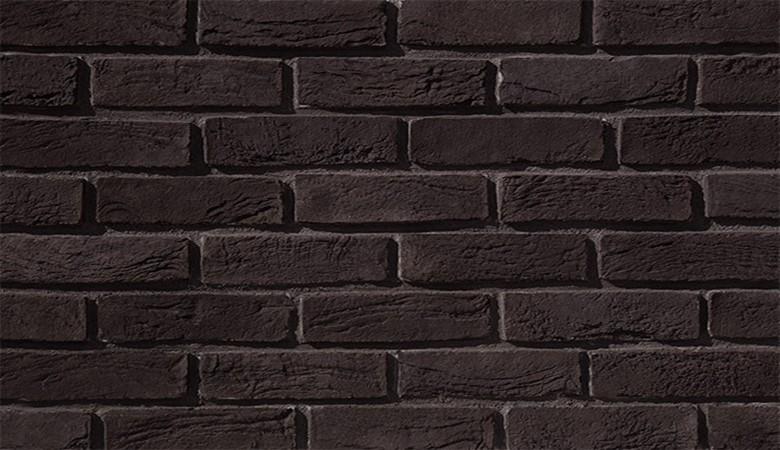 siyah-rustik-tugla-duvar-kaplama